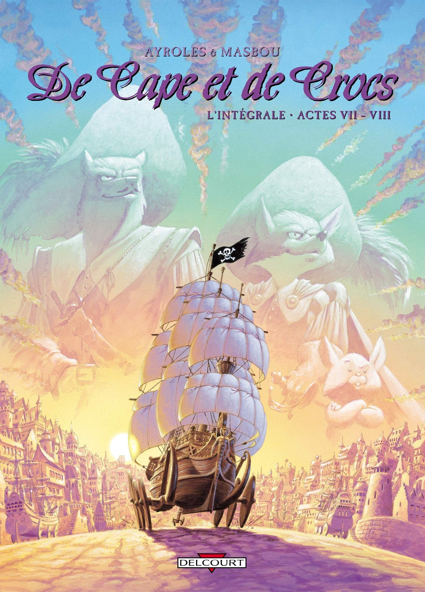 NEUF BD DE CAPE ET DE CROCS INTEGRALE T07 ET T08