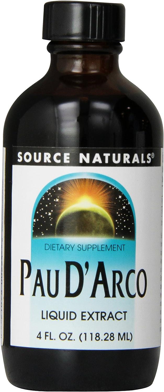 Source Naturals Pau D'Arco Liquid Extract - Dietary Supplement - 4 oz