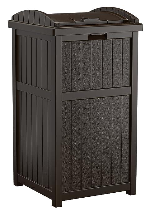 Review Suncast Outdoor Trash Hideaway