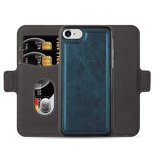 6 opinioni per Custodia e portafoglio per iPhone 7 / iPhone 8, E-Tree 2 in 1 staccabile Case in