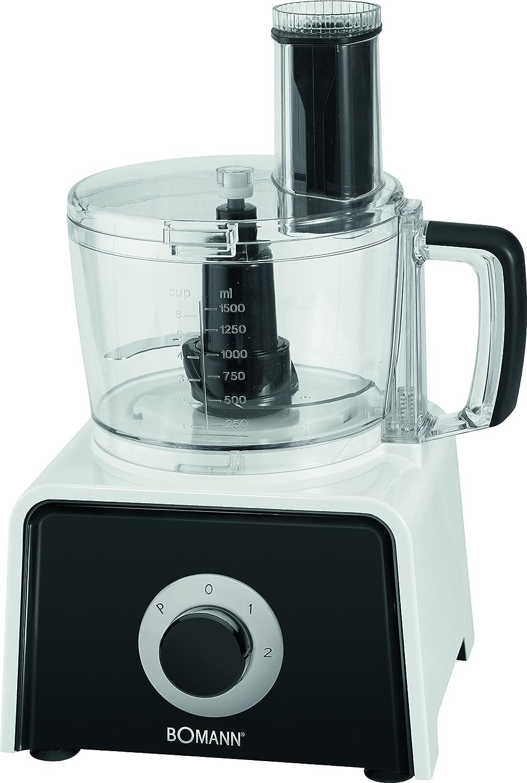 Bomann – KM 1390 CB 7Robot de cocina 7 en 1, 600 W, 4 niveles de velocidad: Amazon.es: Hogar