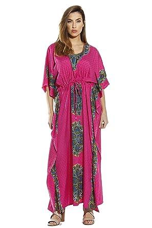 dd5d1d84238 Riviera Sun Maxi Length Cinch Waist Caftan Kaftans for Women at ...