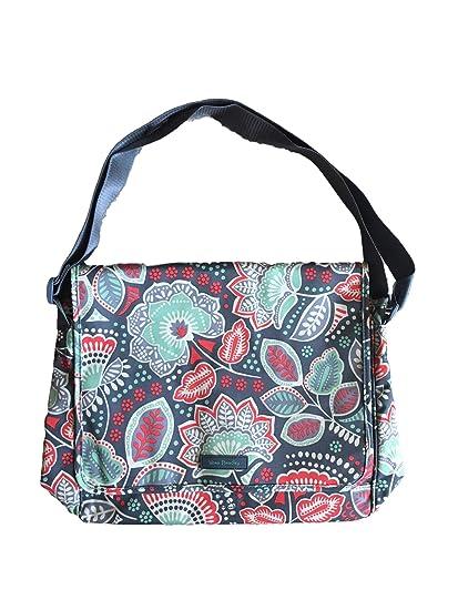 Amazon.com  Vera Bradley Messenger Bag (Nomadic Floral Waterproof fabric)   Computers   Accessories d2fb93b5df48f