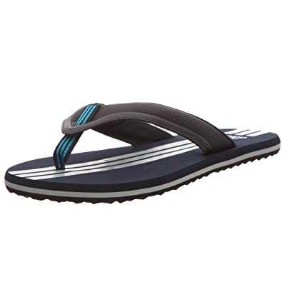 3b6db9369f7c Adidas Paruko 2 Mens Flip Flops Blue Size  9 UK  Amazon.co.uk  Shoes   Bags