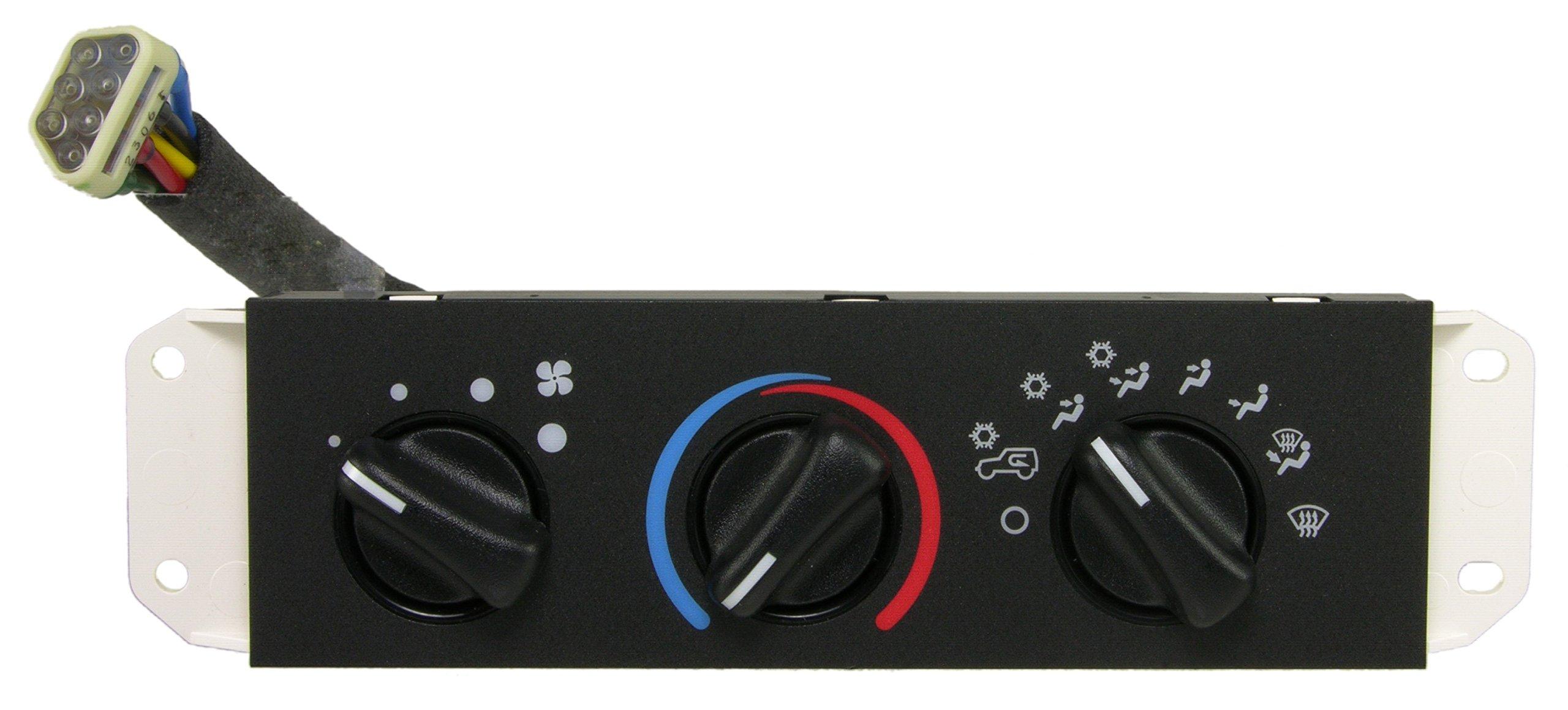 Wells SW2348 HVAC Control Switch by Wells Vehicle Electronics