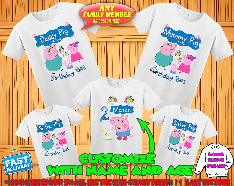 Personalized Toddler Boy Birthday Shirts