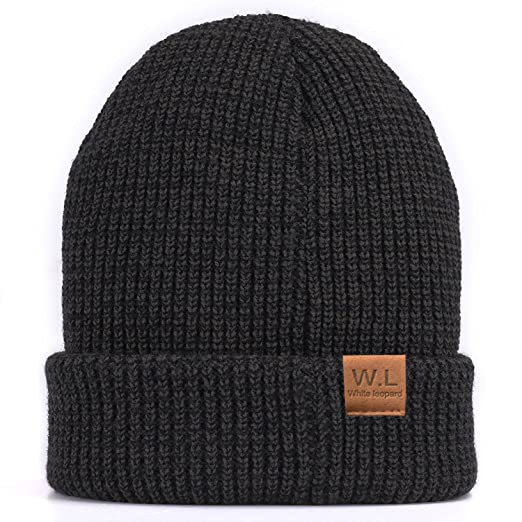 727bc74b93af8 Image Unavailable. Image not available for. Color  Beanie Hat for Men and  Women Lining CC Beanies Winter Warm Hats Knit ...