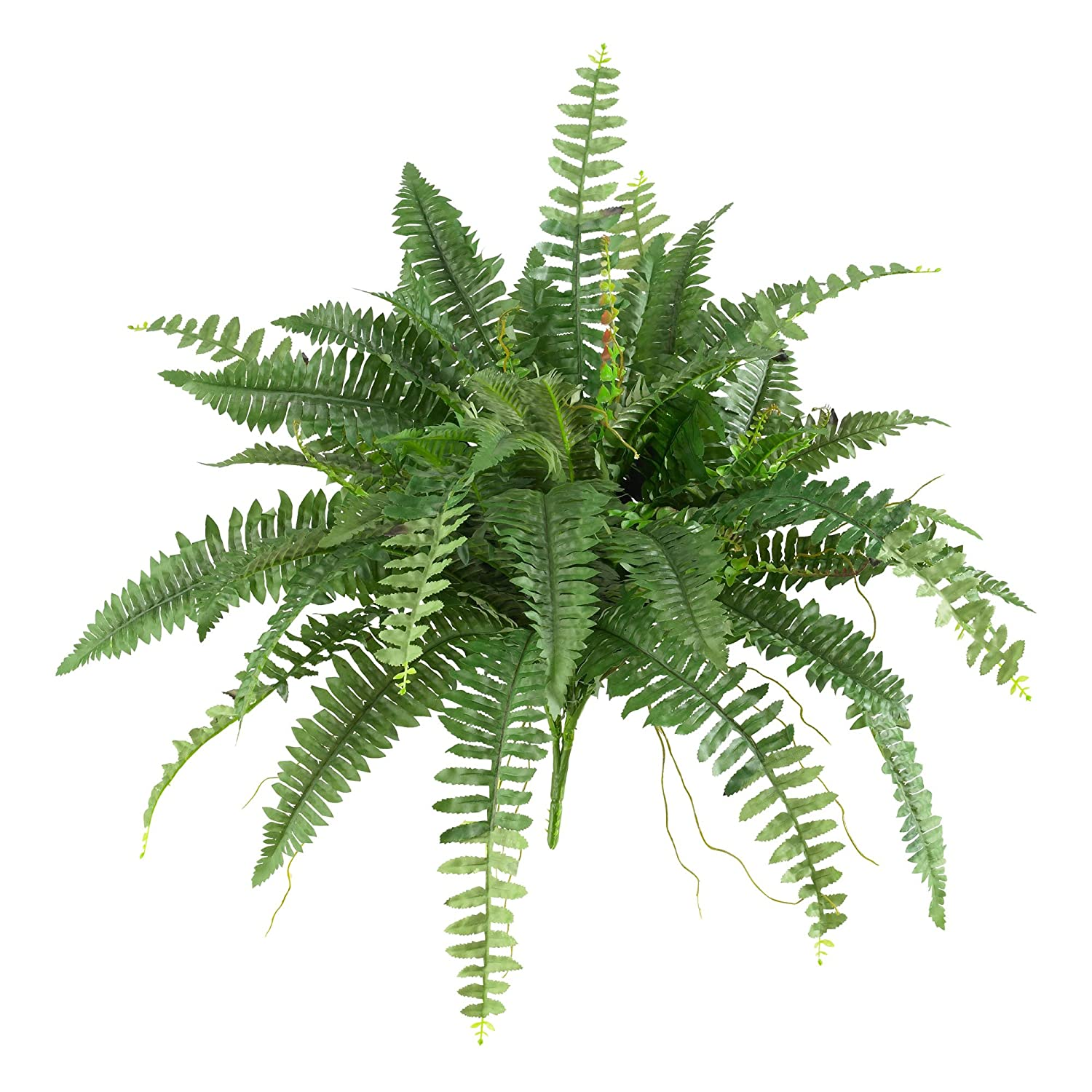 Nearly Natural 6032-S2 40 Boston Fern (Set of 2)
