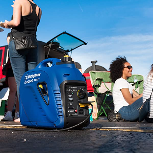 Westinghouse iGen2200 performs well at tailgating parties