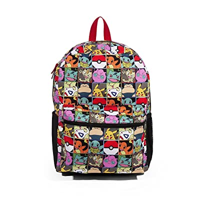 FAB Starpoint Pokemon Multi Character Check 16 Backpack: Toys & Games