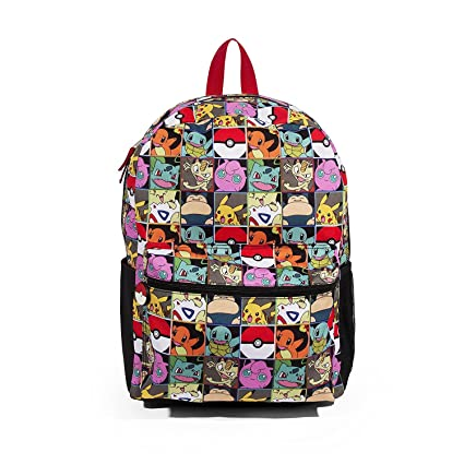 Image Unavailable. Image not available for. Color  FAB Starpoint Pokemon  Multi Character Check 16 Backpack 89c5cfd174b6b