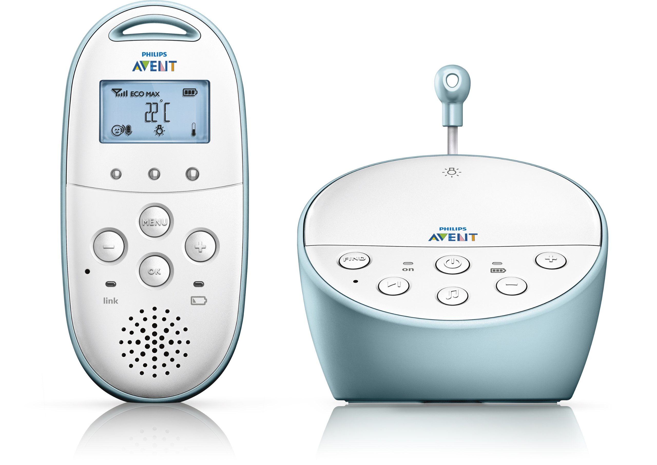 Philips Avent DECT Baby Monitor with Temperature Sensor