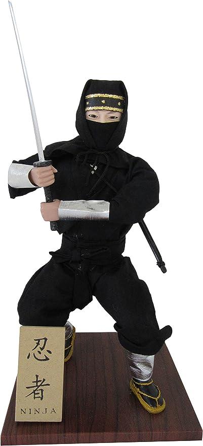Authentic Japanese Samurai Figure Dolls: Ninja!!