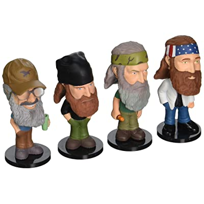 Funko Duck Dynasty Mini Wacky Wobbler Set (4-Piece): Toys & Games
