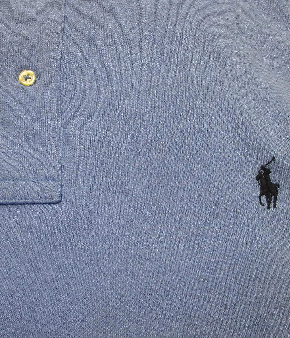 Classic Fit Pony Logo Ralph Lauren Mens Big and Tall Interlock Polo Shirt