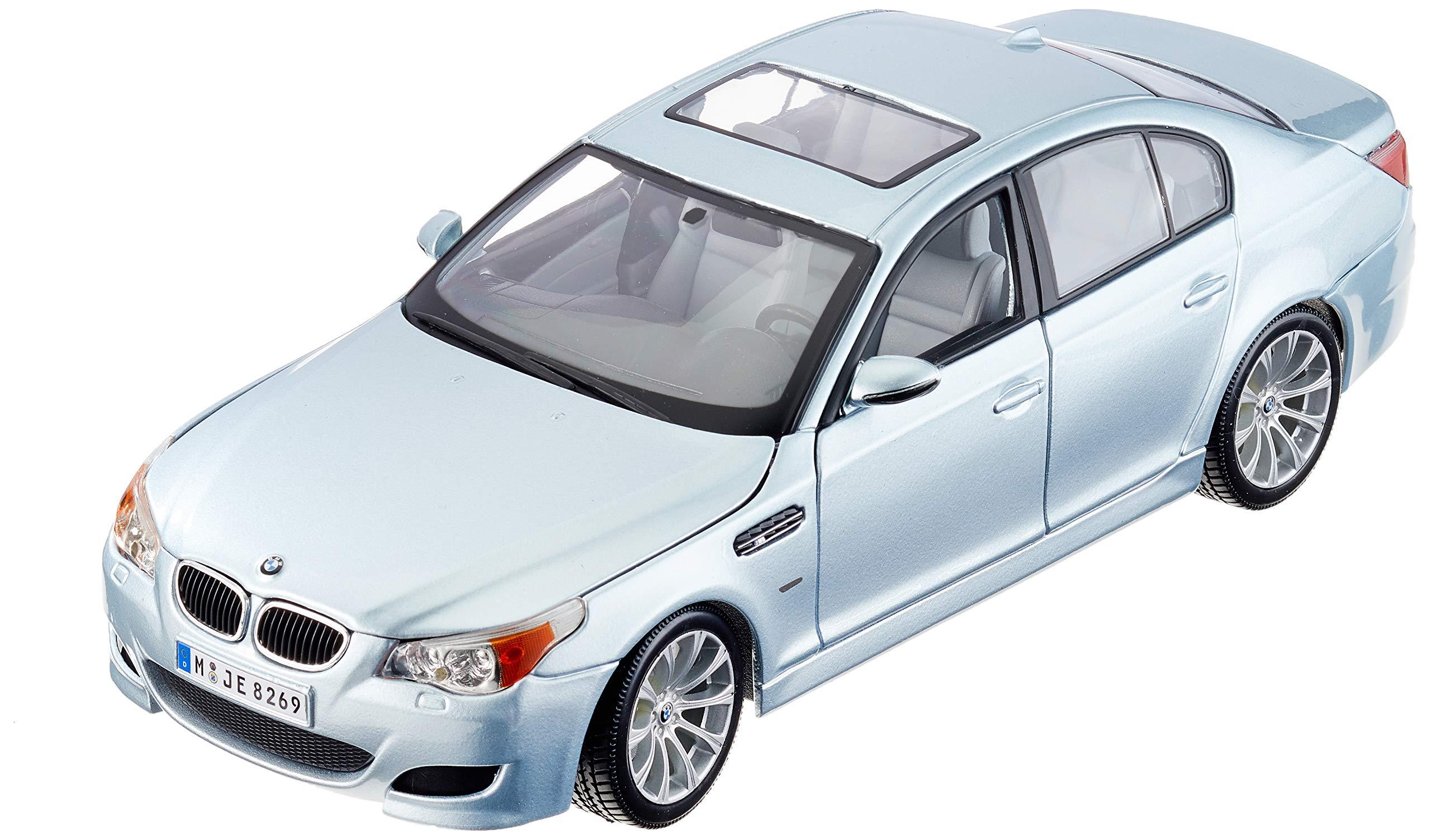 Maisto-BMW M5, Silver (31144s)