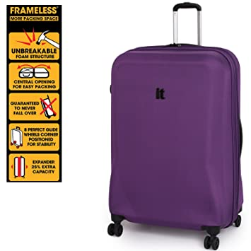 IT Luggage Large Purple 76.5cm/27.5