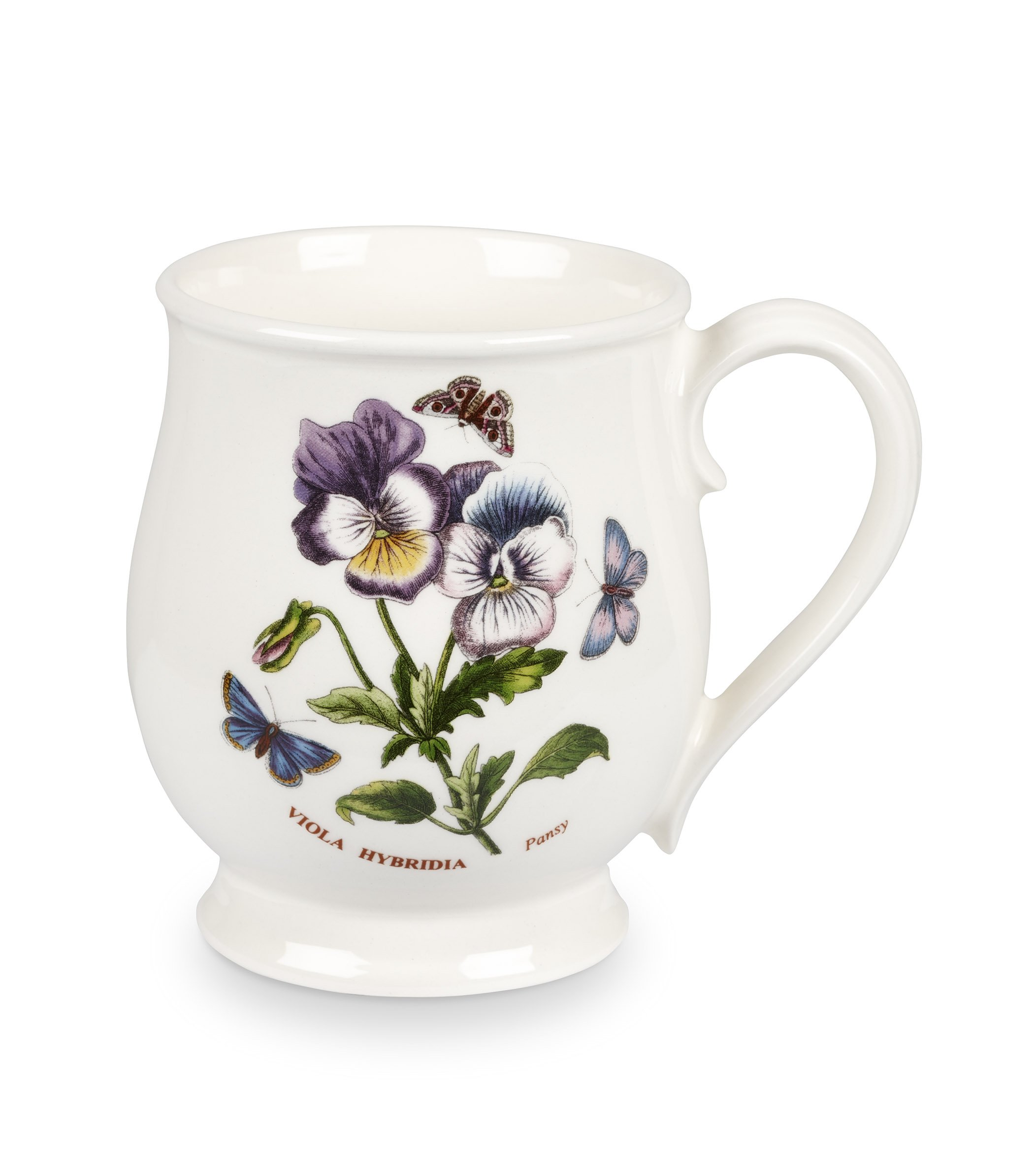 Portmeirion Botanic Garden Bristol Mug, Set of 6 Assorted Motifs