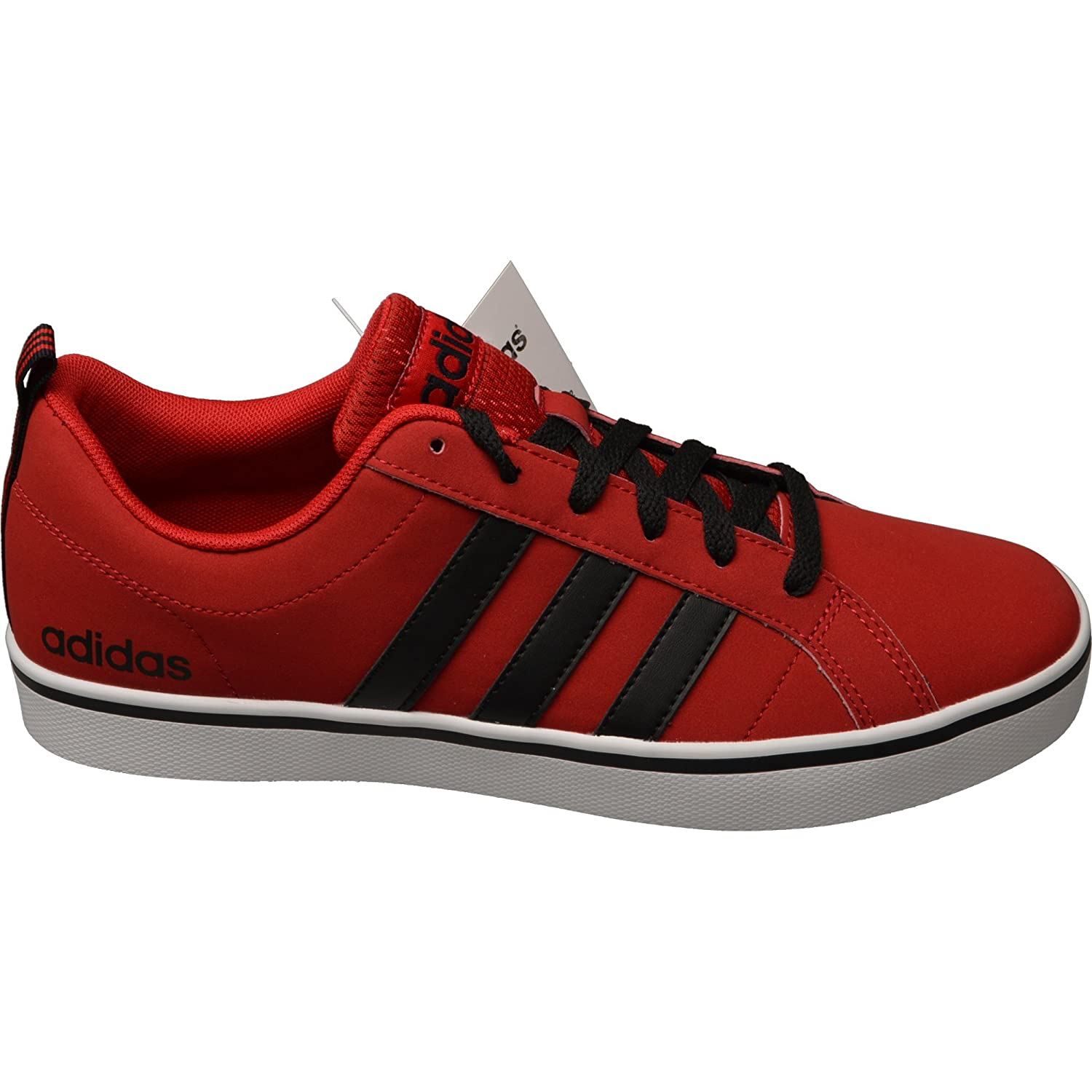 buy popular fcfbf 80711 adidas neo Men s Pace Vs Power Red, Core Black and Ftwr White Sneakers - 10  UK  Buy Online at Low Prices in India - Amazon.in