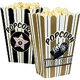 Bols Pop Corn Hollywood (Pack de 4) - Taille Unique