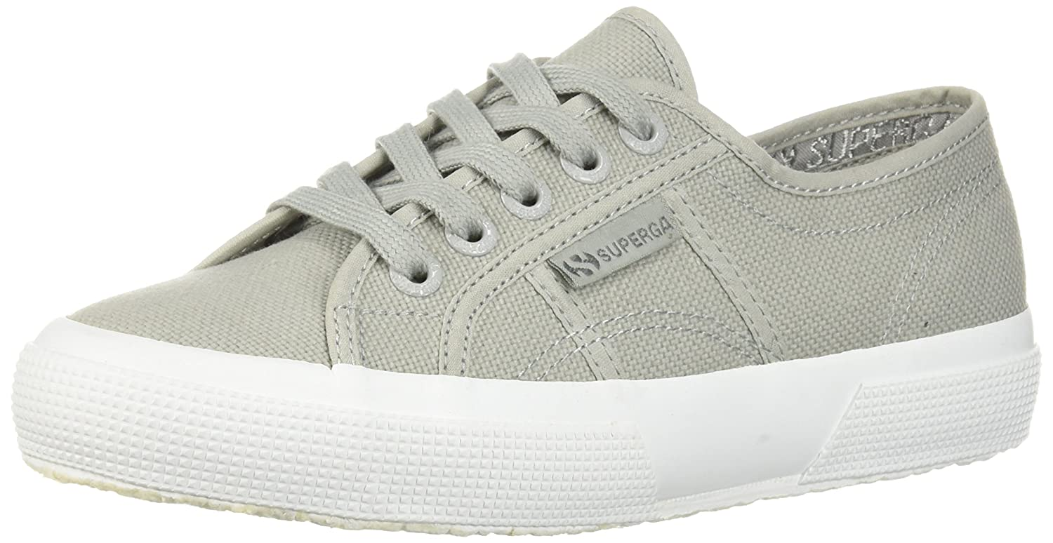 Superga Women's Cotu Sneaker B0777SZSPL 38 EU/7.5 M US|Light Grey Full