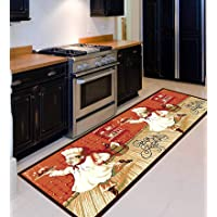 Status Home Kitchen Runner with Anti Skid Backing