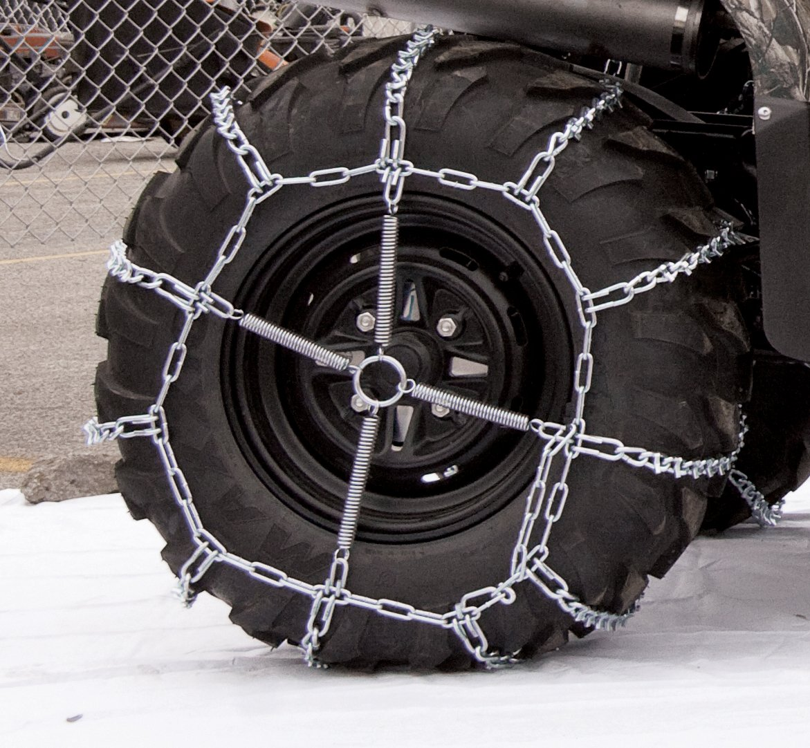 Security Chain Company 1064656 ATV Trac V-Bar Tire Traction Chain SCC