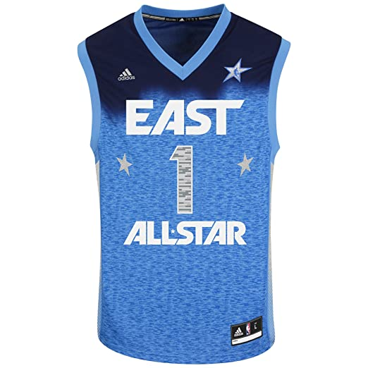 NBA Mens Derrick Rose All Star Jersey (Royal, Small)