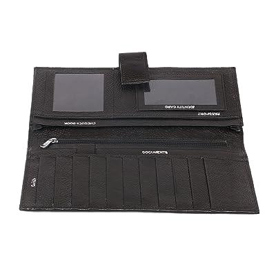 C Comfort Passport Folder Black