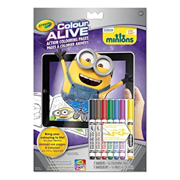 Crayola Color Alive Minions, Drawing Sets - Amazon Canada