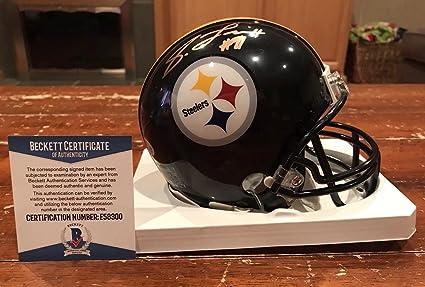 13d85dbd858 Stephon Tuitt Signed Mini Helmet - Black Witness Beckett - Beckett  Authentication - Autographed NFL Mini