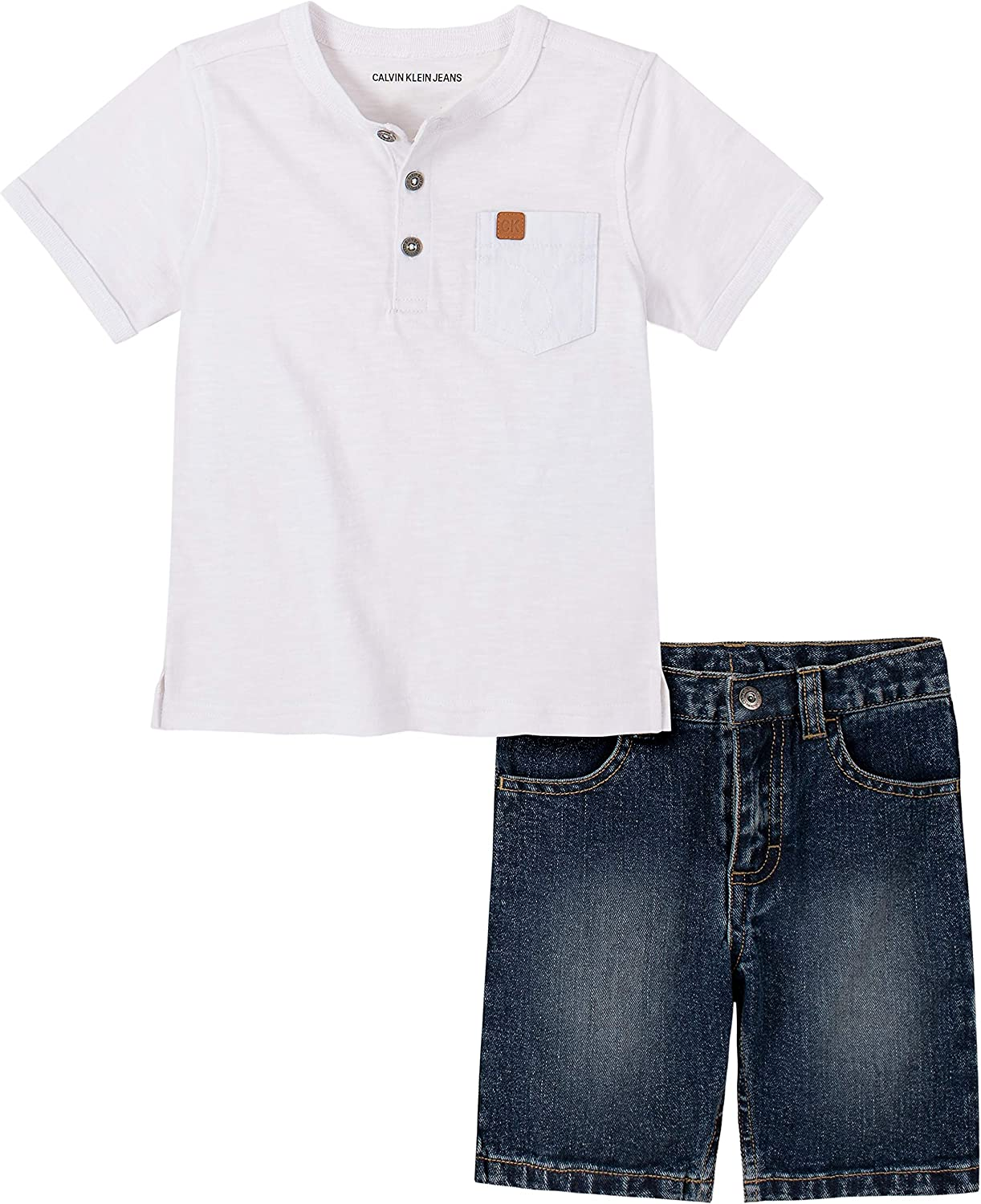 Calvin Klein Boys' 2 Pieces Shorts Set