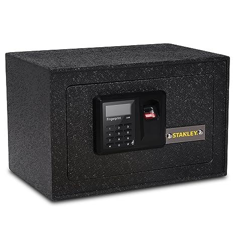 Amazon.com: Stanley Acero Sólido Biométrico Seguro Personal ...