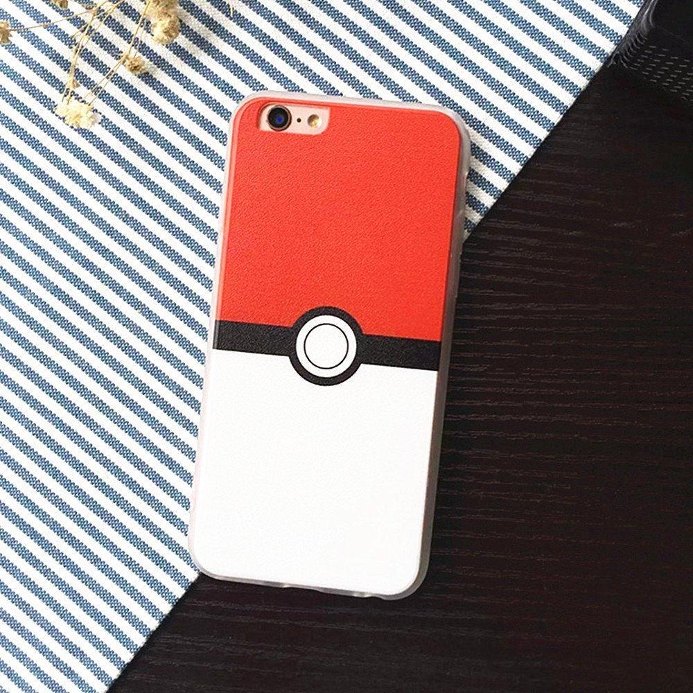 iPhone 66S Plus stile Pokemon cellulare, Pokeball Custodia per iPhone 66S 5.5, iPhone 66S Plus Pokemon Go cellulare