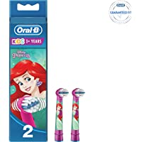 Oral-B Genuine Kids Stages Disney Cars Replacement Red Toothbrush Heads, Refills for Electric Toothbrush, Suitable for Children Aged 3-6 Years, Pack of 2