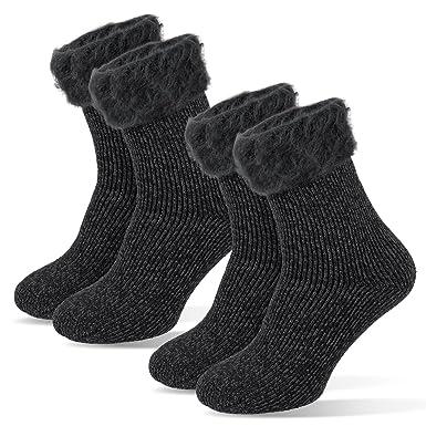 TCM Tchibo 2 Paar Damen Thermo Socken Wintersocken 35 38