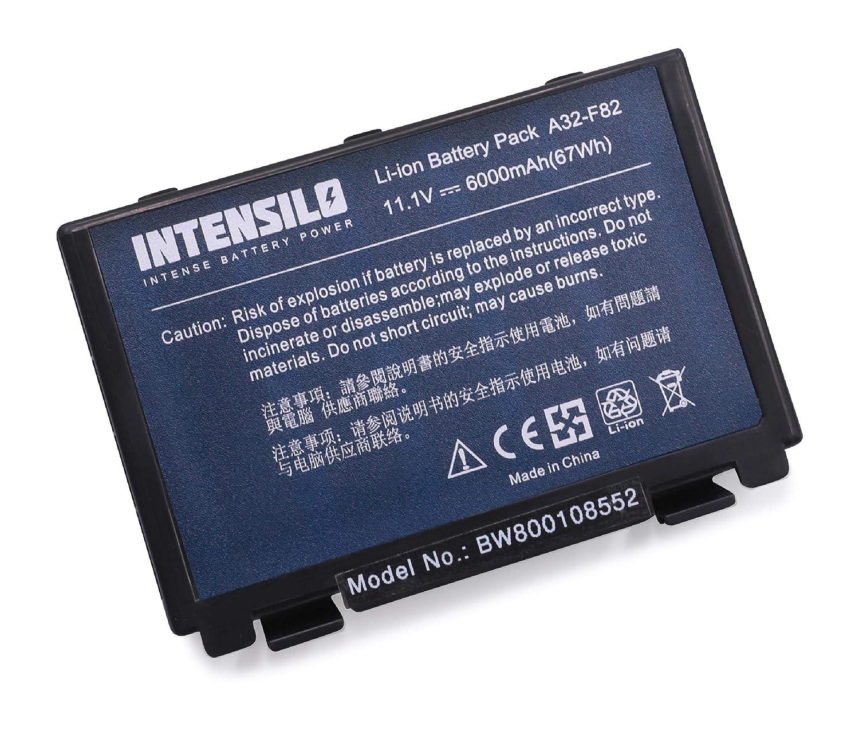 vhbw Batteria LI-Ion per ASUS a scatti in Bianco e Blu sostituisce A32-F52 L0690L6 A32-F82