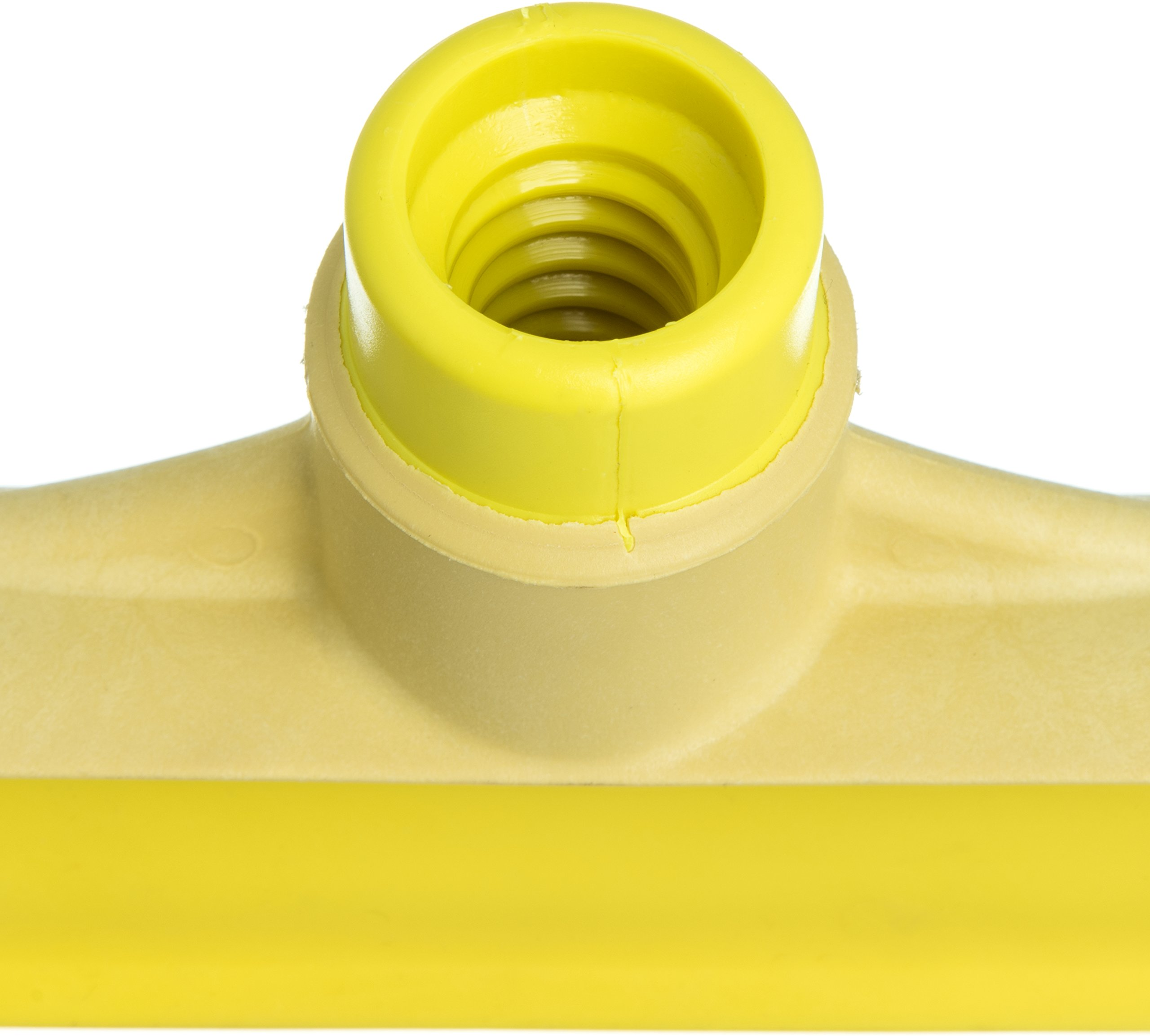 Carlisle 3656704 Solid One-Piece Foam Rubber Head Floor Squeegee, 20'' Length, Yellow (Case of 6) by Carlisle (Image #9)