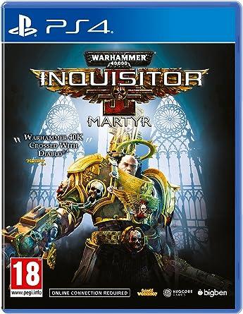 Warhammer 40K Inquisitor Martyr - PlayStation 4 [Importación inglesa]: Amazon.es: Videojuegos