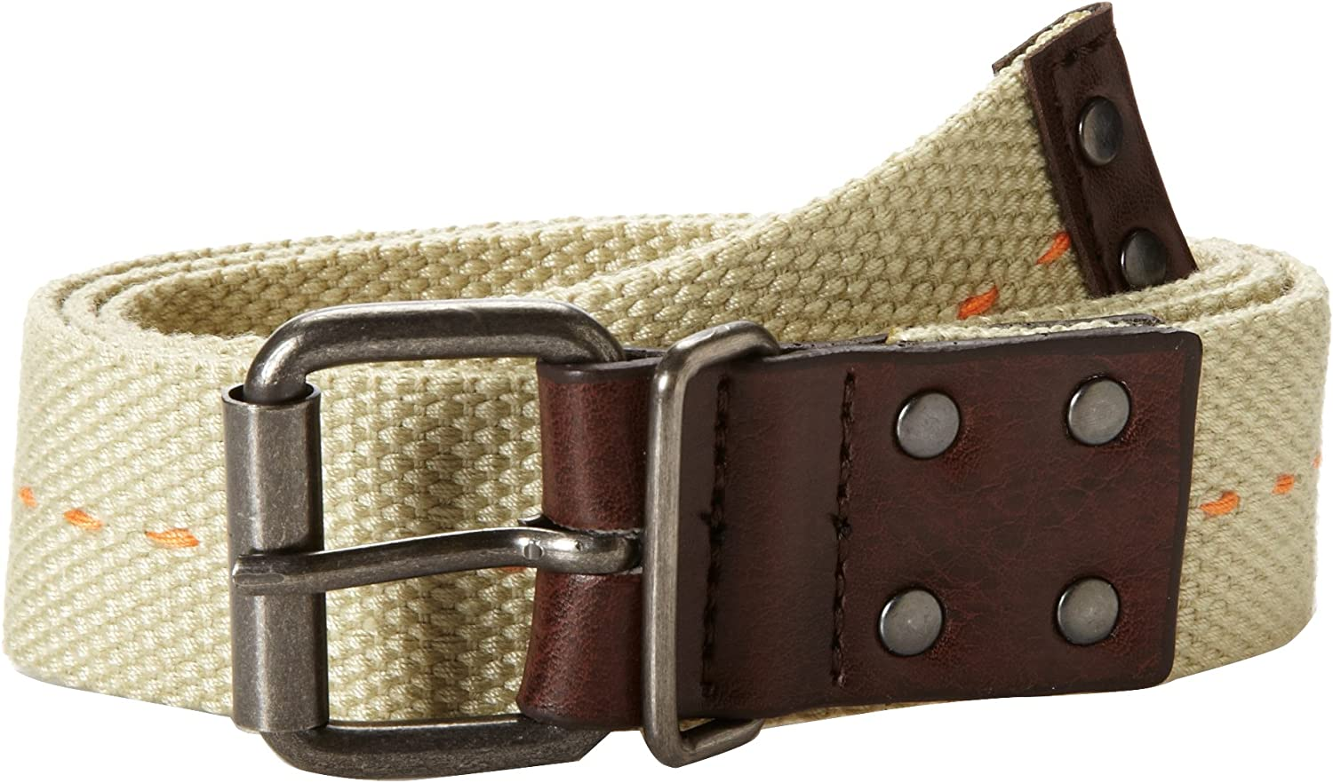 Concept One Accessories Big Boys Web Belt with Tic Stitch Down
