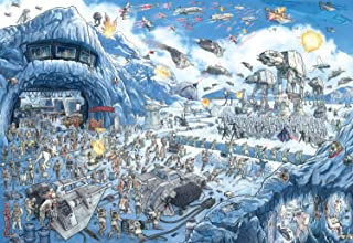 product image for Star Wars - Search Inside: Battle of Hoth - 2000 Piece Jigsaw Puzzle