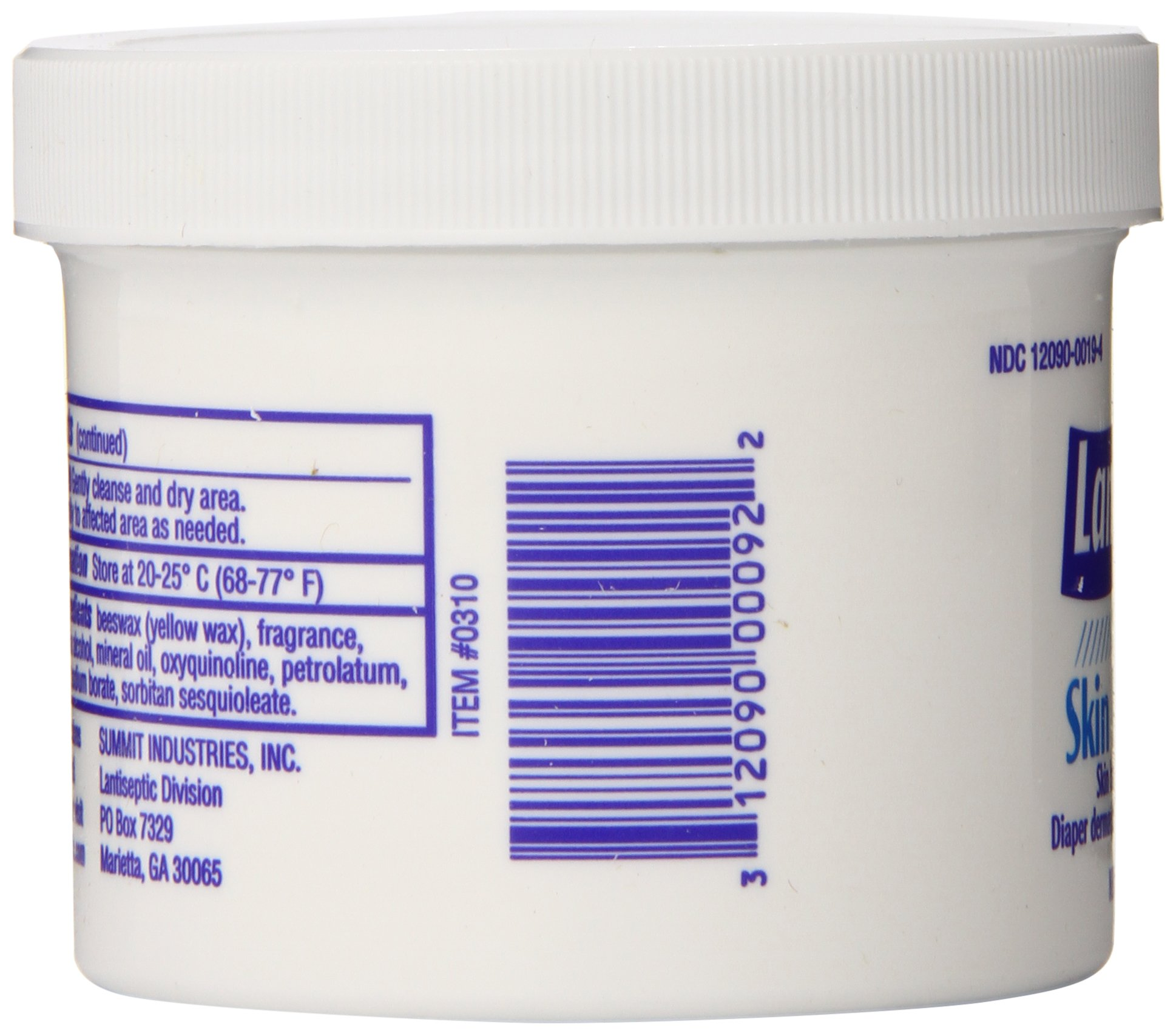 Lantiseptic Skin Protectant Ointment, 4.5 Ounce (Pack of 24)