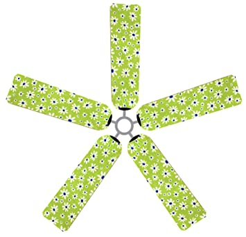 Fan blade designs daisies ceiling fan blade covers amazon fan blade designs daisies ceiling fan blade covers aloadofball
