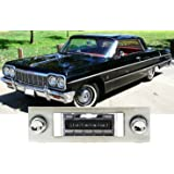 Custom Autosound Stereo compatible with 1961-1962 Chevy Impala USA-630 II High Power 300 watt AM FM Car Stereo//Radio # CAM-IMP-1//2-630