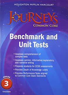 Journeys cold reads grade 3 houghton mifflin harcourt journeys benchmark tests and unit tests consumable grade 3 grade 3 fandeluxe Gallery