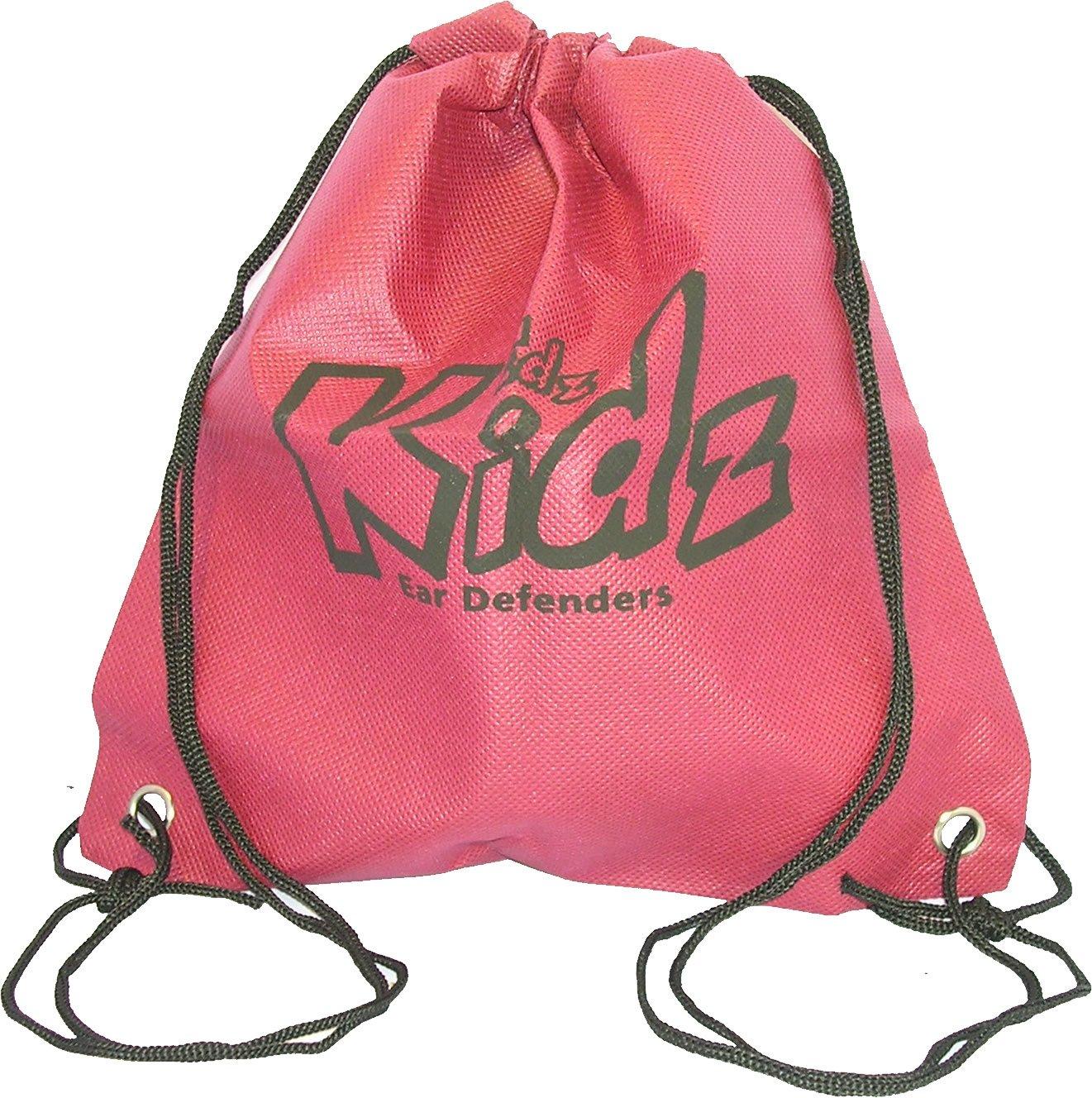 EDZ Kidz –  Storage Bag for Children' s Ear Defenders (Black) EKDSB1