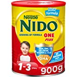 Nestlé NIDO One Plus Growing Up Milk Powder Tin For Toddlers 1-3 Years, 900g