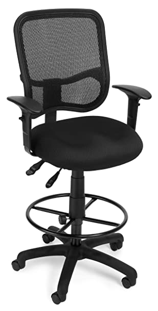 OFM 130 AA3 DK A05 Mesh Comfort Series Ergonomic Task Chair With Arms
