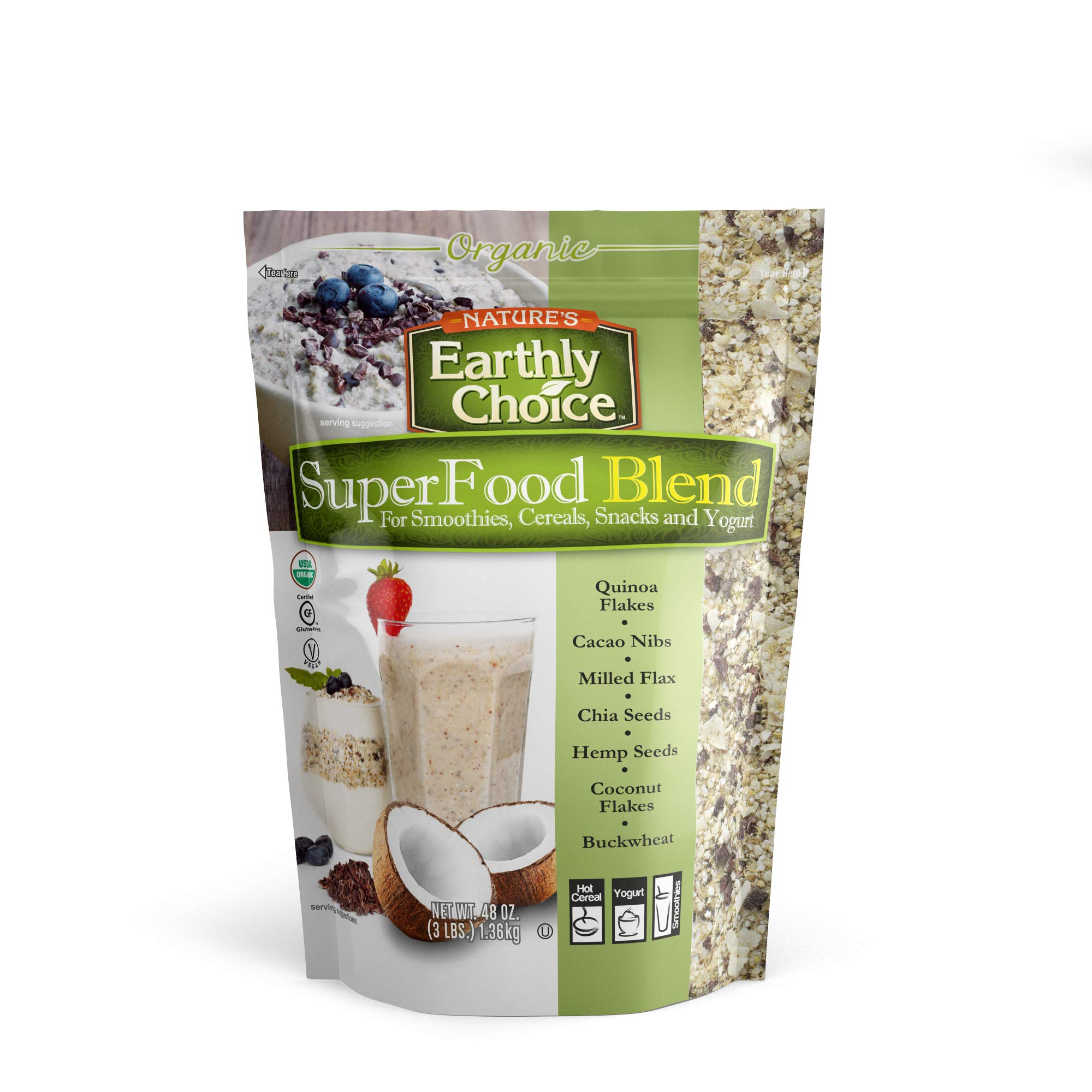 Organic Nature's Earthly Choice SuperFood Blend by Nature's Earthly Choice