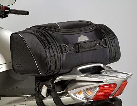 Amazon.com: Tour Master Elite – Bolsa de cola de moto negro ...